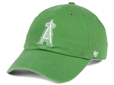 Los Angeles Angels '47 MLB Fatigue Green '47 CLEAN UP Cap