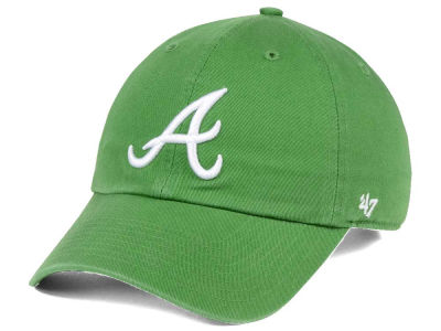 Atlanta Braves '47 MLB Fatigue Green '47 CLEAN UP Cap