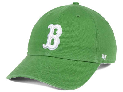 Boston Red Sox '47 MLB Fatigue Green '47 CLEAN UP Cap