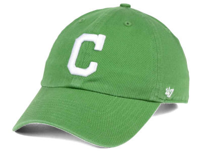 Cleveland Indians '47 MLB Fatigue Green '47 CLEAN UP Cap