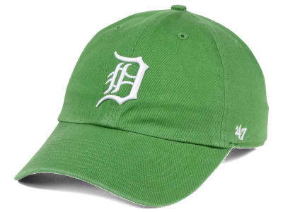 Detroit Tigers '47 MLB Fatigue Green '47 CLEAN UP Cap