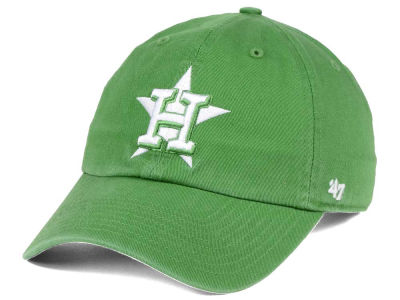 Houston Astros '47 MLB Fatigue Green '47 CLEAN UP Cap