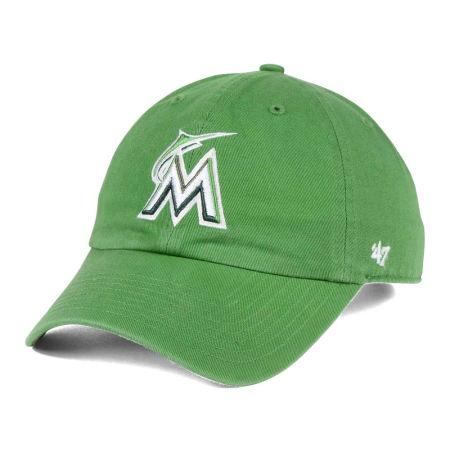Miami Marlins '47 MLB Fatigue Green '47 CLEAN UP Cap