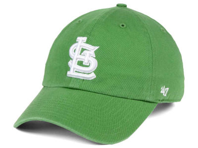St. Louis Cardinals '47 MLB Fatigue Green '47 CLEAN UP Cap