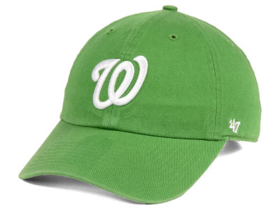Washington Nationals '47 MLB Fatigue Green '47 CLEAN UP Cap
