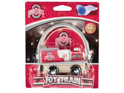 Ohio State Buckeyes Wood Train Toy