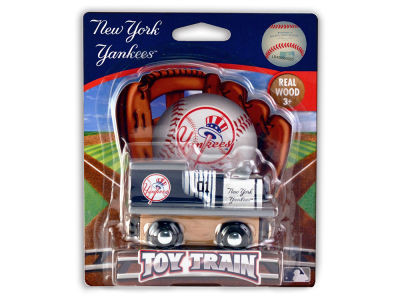 New York Yankees Wood Train Toy