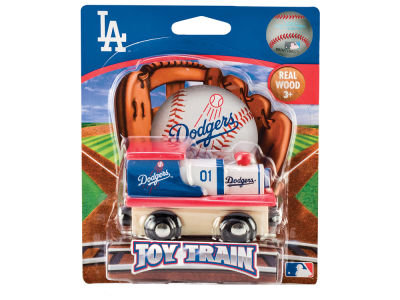 Los Angeles Dodgers Wood Train Toy