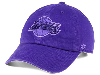 Los Angeles Lakers '47 NBA Triple Rush CLEAN UP Cap