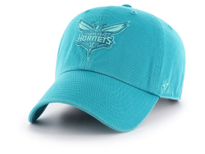 Charlotte Hornets '47 NBA Triple Rush CLEAN UP Cap
