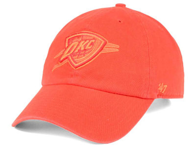 Oklahoma City Thunder '47 NBA Triple Rush CLEAN UP Cap