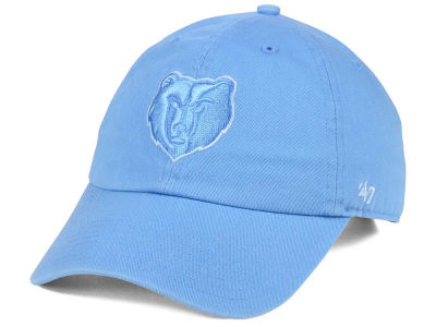 Memphis Grizzlies '47 NBA Triple Rush CLEAN UP Cap