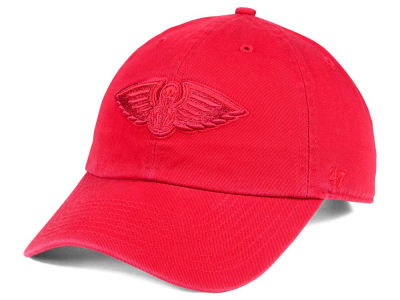 New Orleans Pelicans '47 NBA Triple Rush CLEAN UP Cap