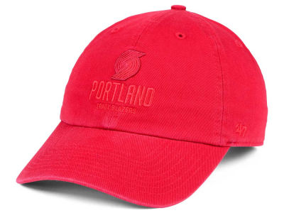 Portland Trail Blazers '47 NBA Triple Rush CLEAN UP Cap