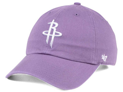Houston Rockets '47 NBA Pastel Rush CLEAN UP Cap