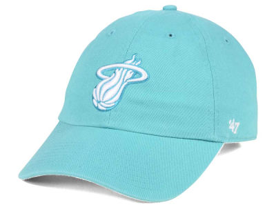 Miami Heat '47 NBA Pastel Rush CLEAN UP Cap