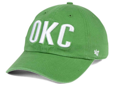Oklahoma City Thunder '47 NBA Pastel Rush CLEAN UP Cap