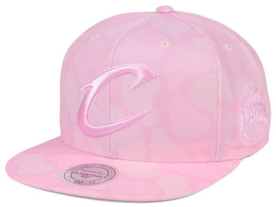 Cleveland Cavaliers Mitchell & Ness NBA Pastel Camo Snapback Cap