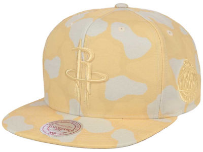 Houston Rockets Mitchell & Ness NBA Pastel Camo Snapback Cap