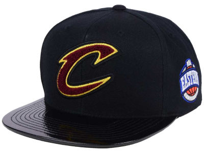 Cleveland Cavaliers Mitchell & Ness NBA Team Patent Snapback Cap