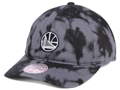 Golden State Warriors Mitchell & Ness NBA Multi Color Acid Wash Dad Hat