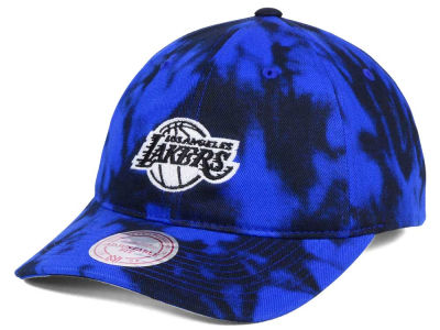 8b61317a0d5 Los Angeles Lakers Mitchell   Ness NBA Multi Color Acid Wash Dad Hat