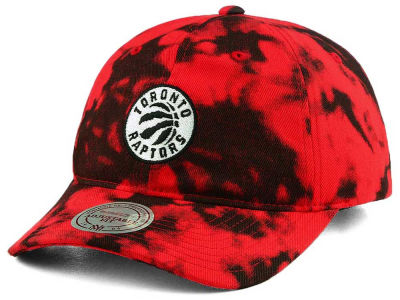 Toronto Raptors Mitchell & Ness NBA Multi Color Acid Wash Dad Hat