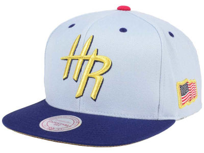 Houston Rockets Mitchell & Ness NBA USA 2Tone 2.0 Snapback Cap