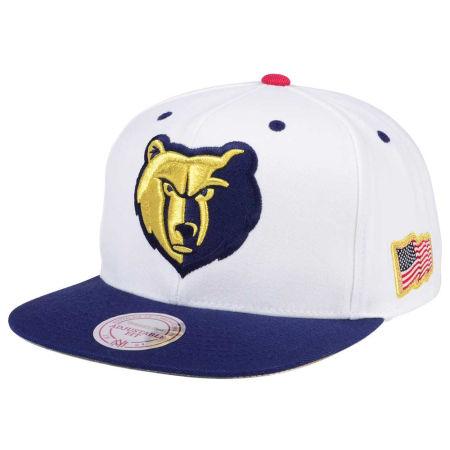 Memphis Grizzlies Mitchell & Ness NBA USA 2Tone 2.0 Snapback Cap