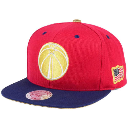 Washington Wizards Mitchell & Ness NBA USA 2Tone 2.0 Snapback Cap