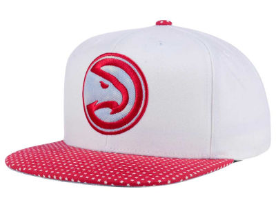 Atlanta Hawks Mitchell & Ness NBA Stars and Wash Snapback Cap