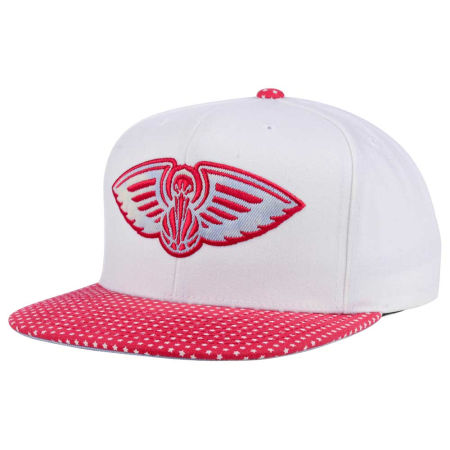 New Orleans Pelicans Mitchell & Ness NBA Stars And Wash Snapback Cap