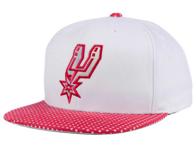 San Antonio Spurs Mitchell & Ness NBA Stars and Wash Snapback Cap