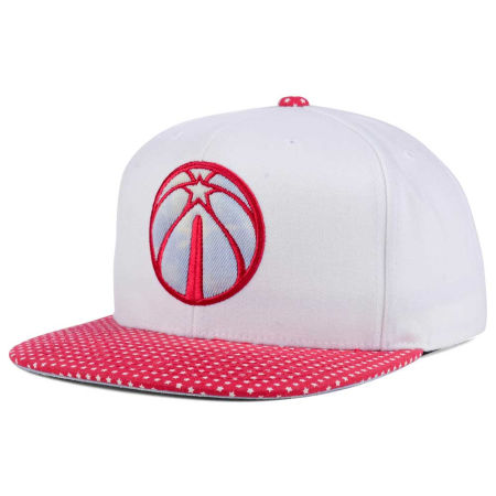 Washington Wizards Mitchell & Ness NBA Stars And Wash Snapback Cap