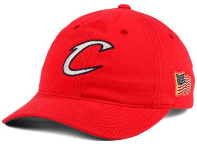 0aef17e24bc Cleveland Cavaliers Mitchell   Ness NBA USA Dadder Hat