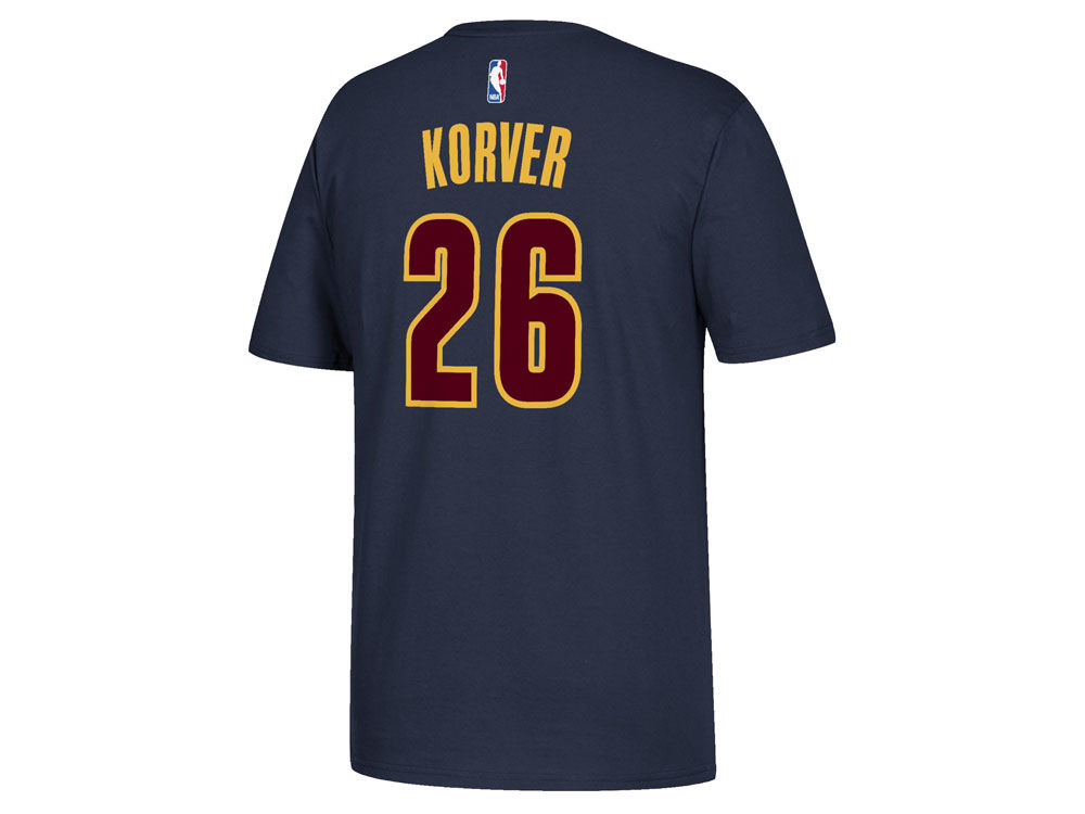 99932feb1 Cleveland Cavaliers Kyle Korver adidas NBA Men s Player T-Shirt ...