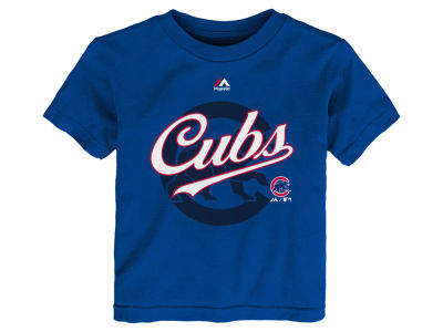 Chicago Cubs MLB Toddler The Game Cotton T-Shirt