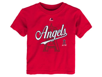 Los Angeles Angels Majestic MLB Toddler The Game Cotton T-Shirt