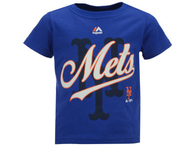 New York Mets Majestic MLB Toddler The Game Cotton T-Shirt