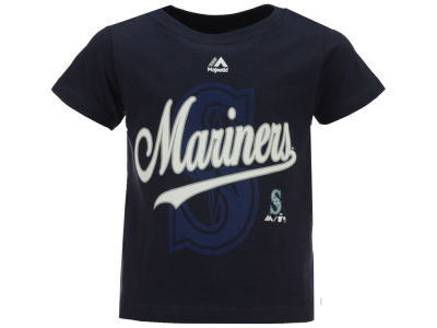Seattle Mariners Majestic MLB Toddler The Game Cotton T-Shirt