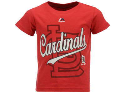 St. Louis Cardinals Majestic MLB Toddler The Game Cotton T-Shirt