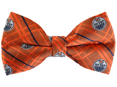Edmonton Oilers NHL Oxford Poly Bow Tie