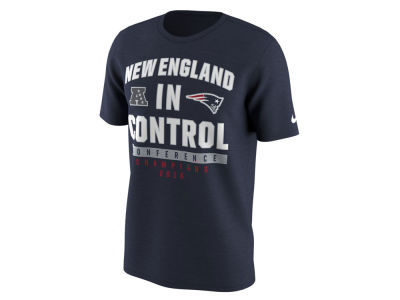 New England Patriots Nike NFL Men's Conference Champ In Control T-Shirt