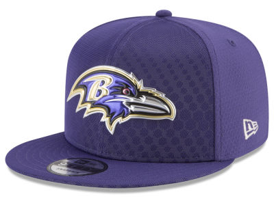 Baltimore Ravens New Era 2017 NFL On Field Color Rush 9FIFTY Snapback Cap