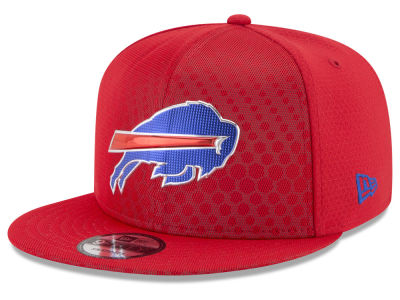 Buffalo Bills New Era 2017 NFL On Field Color Rush 9FIFTY Snapback Cap