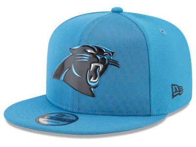 Carolina Panthers New Era 2017 NFL On Field Color Rush 9FIFTY Snapback Cap