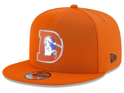 Denver Broncos New Era 2017 NFL On Field Color Rush 9FIFTY Snapback Cap