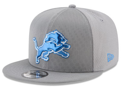 Detroit Lions New Era 2017 NFL On Field Color Rush 9FIFTY Snapback Cap