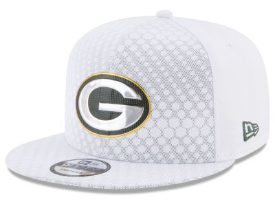 Green Bay Packers New Era 2017 NFL On Field Color Rush 9FIFTY Snapback Cap