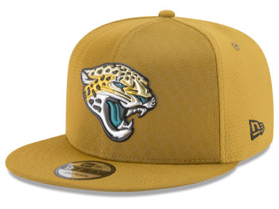 Jacksonville Jaguars New Era 2017 NFL On Field Color Rush 9FIFTY Snapback Cap